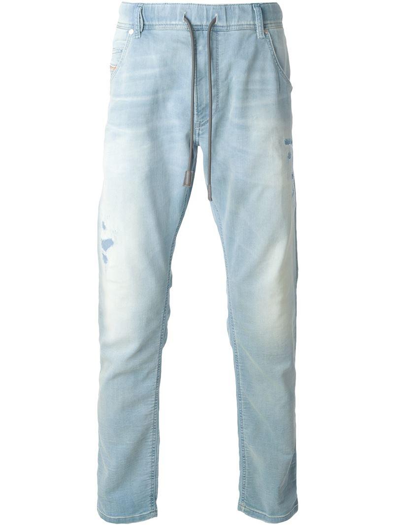 stone wash jeans - Grey Diesel h6sZaLn