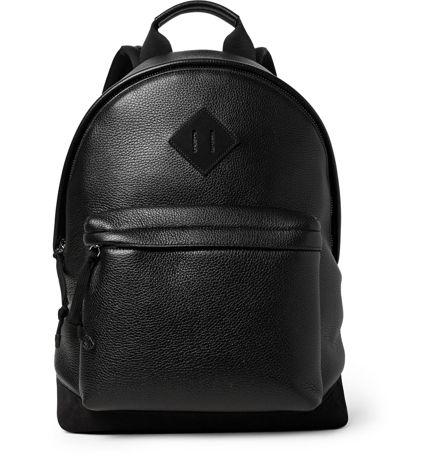 Full-grain Leather Backpack Tom Ford zqbhvefJT1