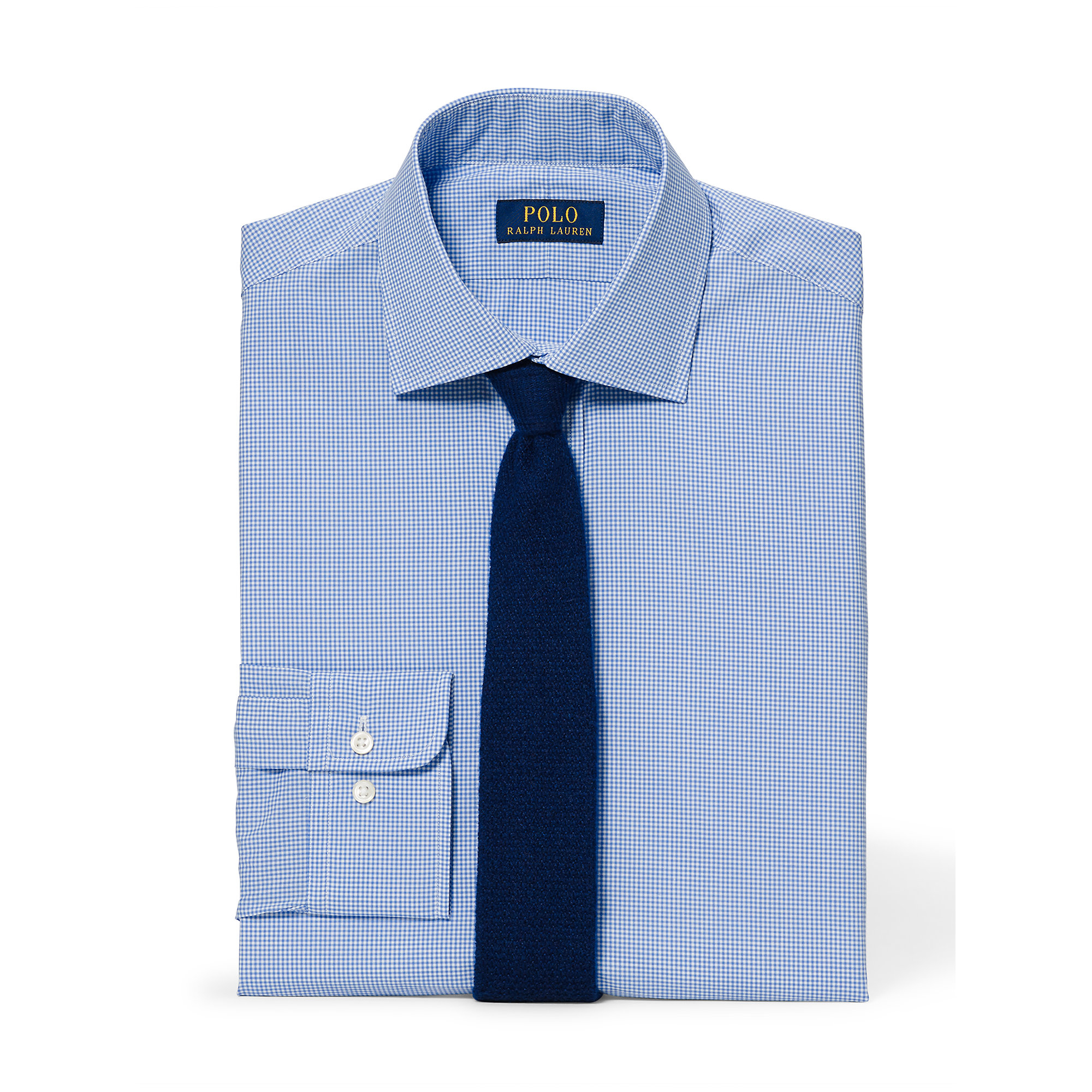polo ralph lauren slim fit pinpoint oxford shirt in blue for men. Black Bedroom Furniture Sets. Home Design Ideas