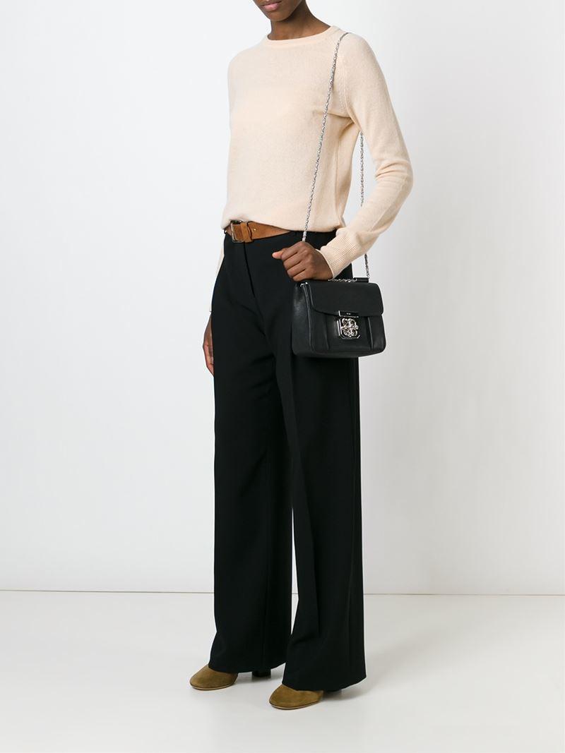 Chlo¨¦ \u0026#39;Elsie\u0026#39; Shoulder Bag in Black | Lyst