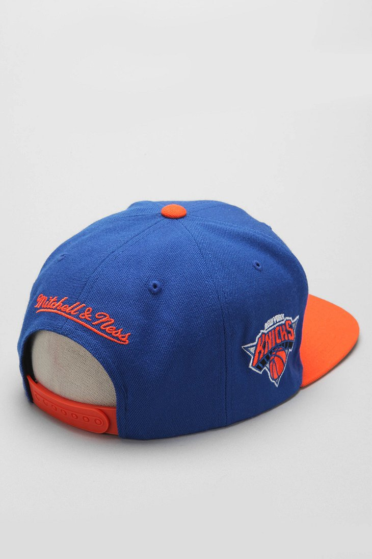 finest selection 01d4d b5db9 Mitchell   Ness Mitchell Ness Finals New York Knicks Snapback Hat in ...
