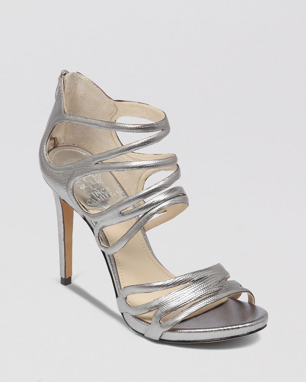 Lyst - Vince camuto Open Toe Platform Evening Sandals