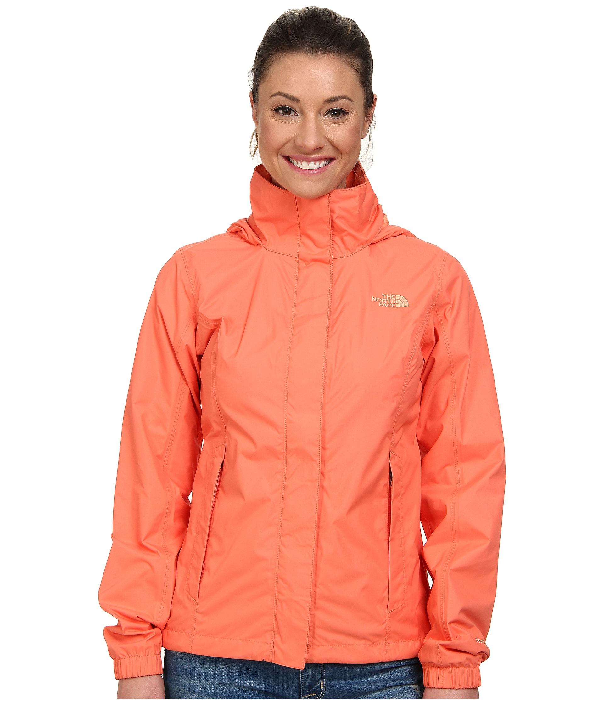 bde4e78b424d Lyst - The North Face Resolve Jacket in Orange