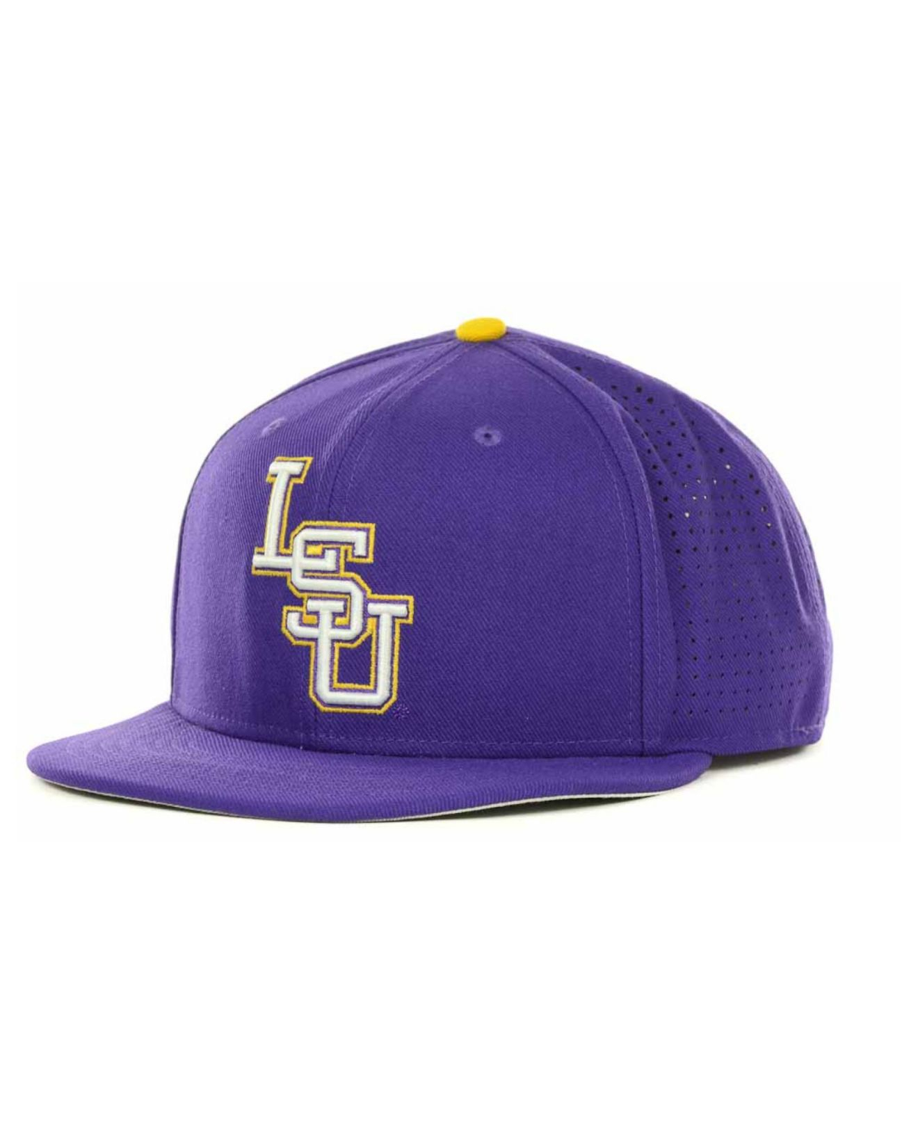 ... cheap lyst nike lsu tigers ncaa authentic vapor fitted cap in purple  for men d7d77 a05c4 0e3629efdb3