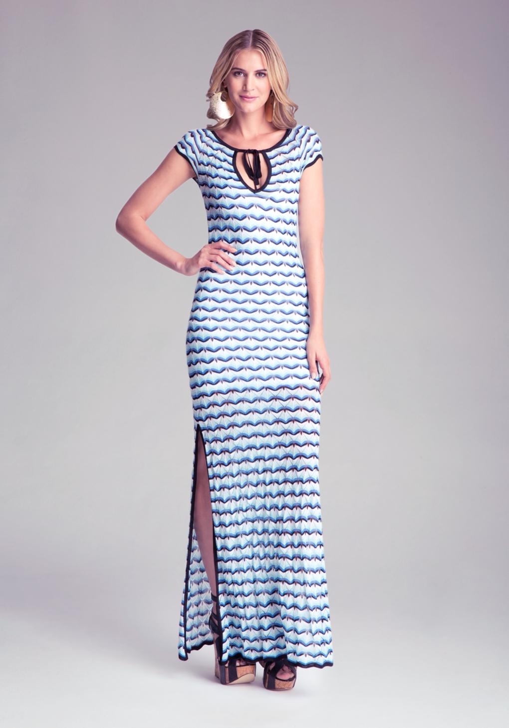 Knit maxi dress by bebe