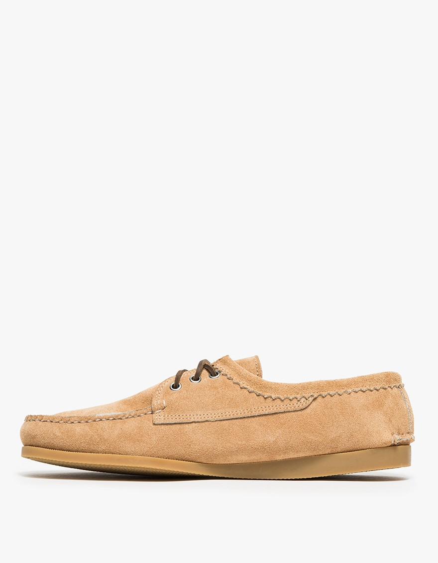 Quoddy Taupe Suede Blucher In Natural For Men Lyst