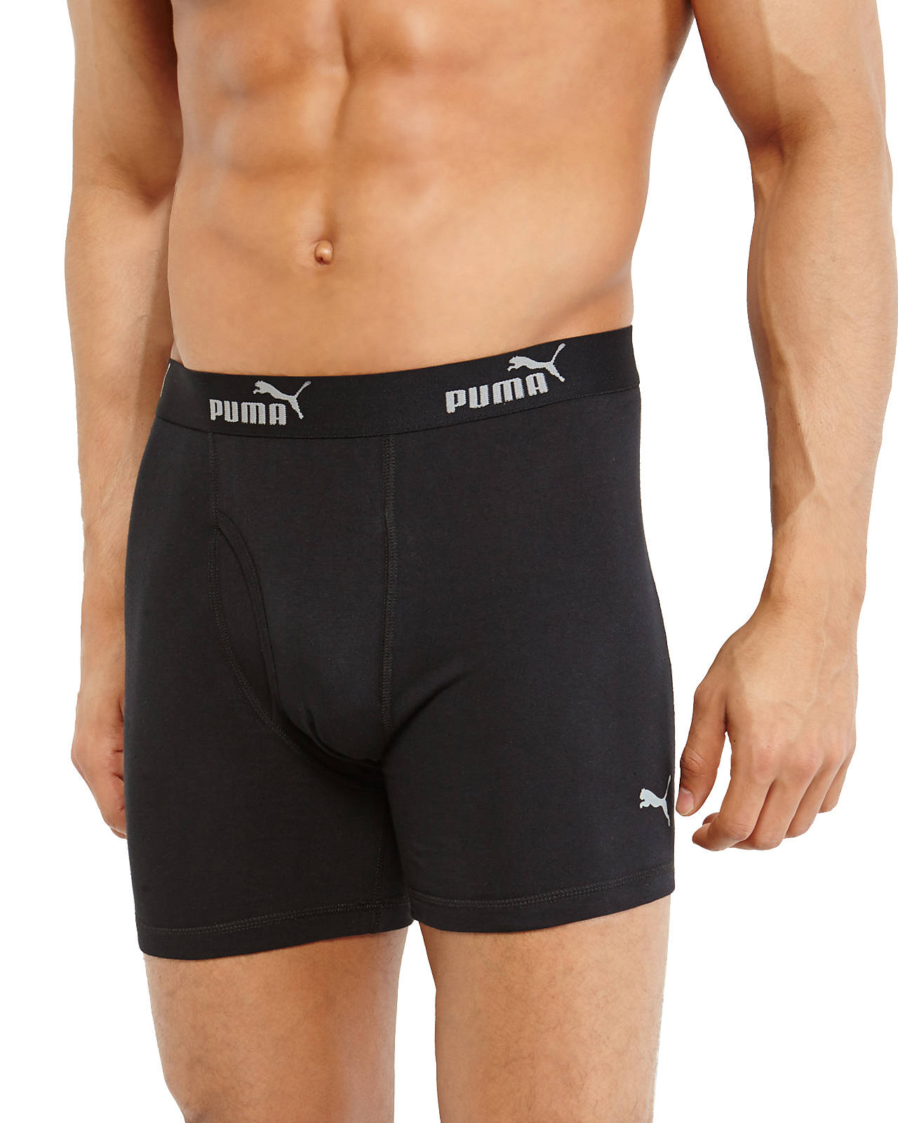 8e939c60e8b1 PUMA 3-Pack Boxer Briefs in Black for Men - Lyst