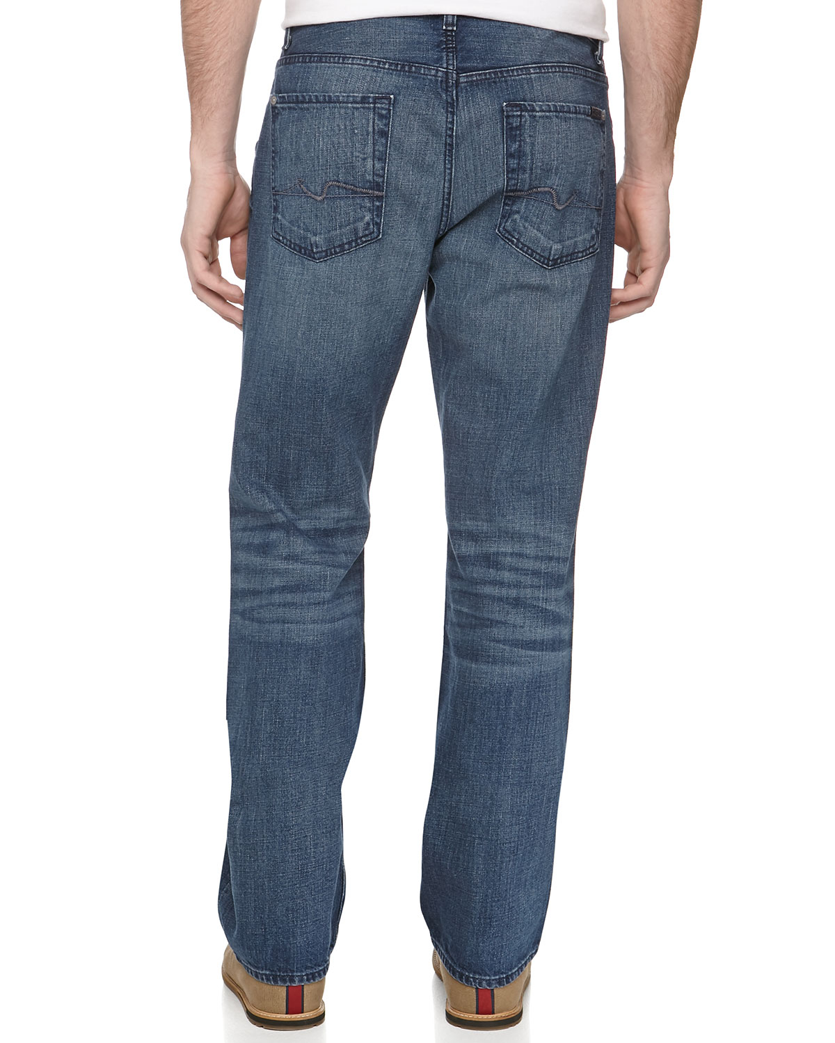 Relaxed Mens Jeans
