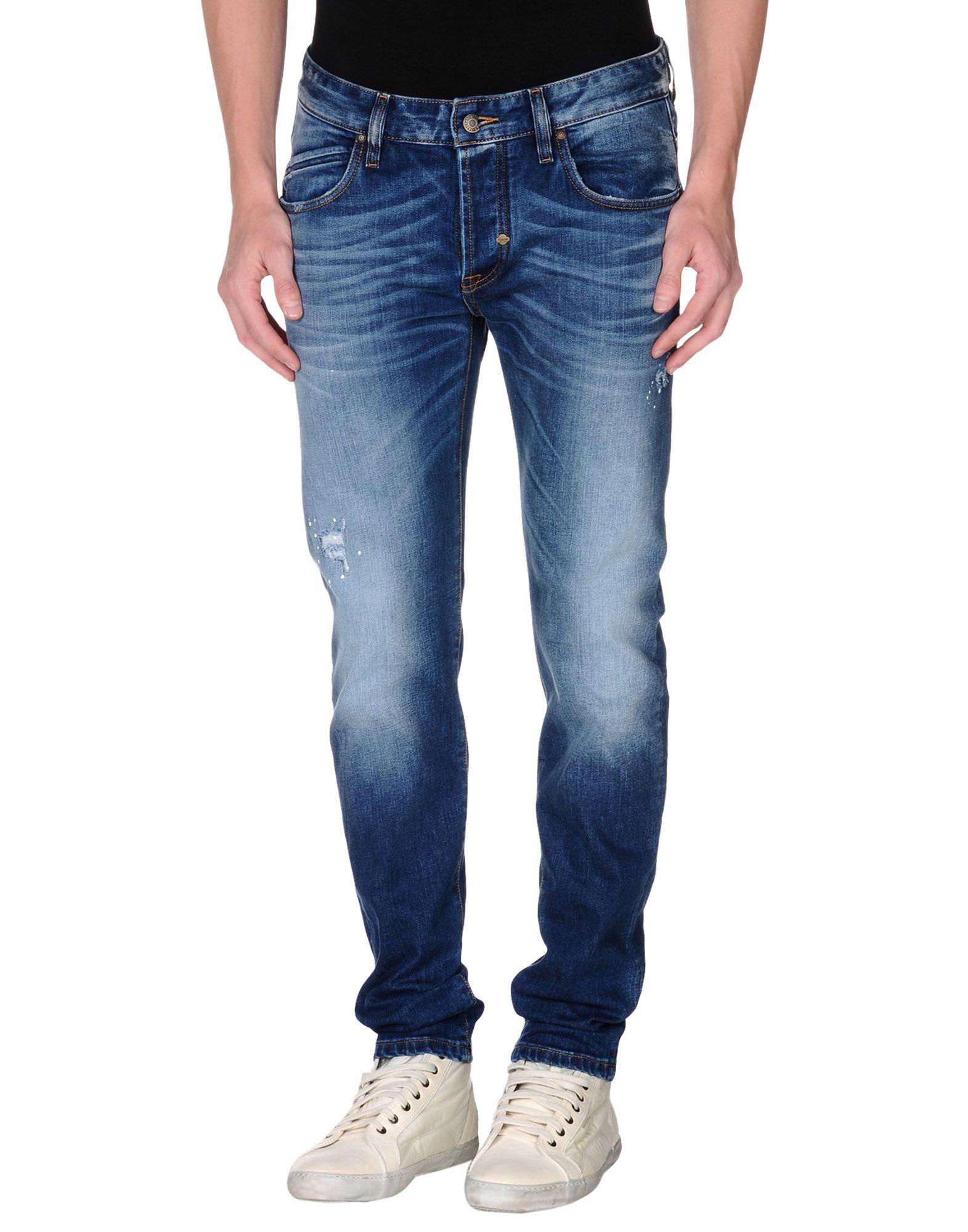 Takeshy kurosawa Denim Trousers in Blue for Men