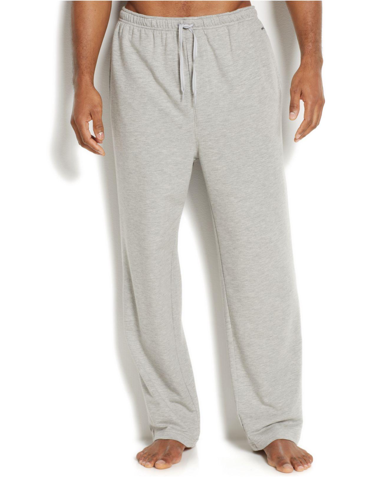 3e2a321a84 Lyst - Michael Kors Men S Modal French Terry Lounge Pants in Gray ...