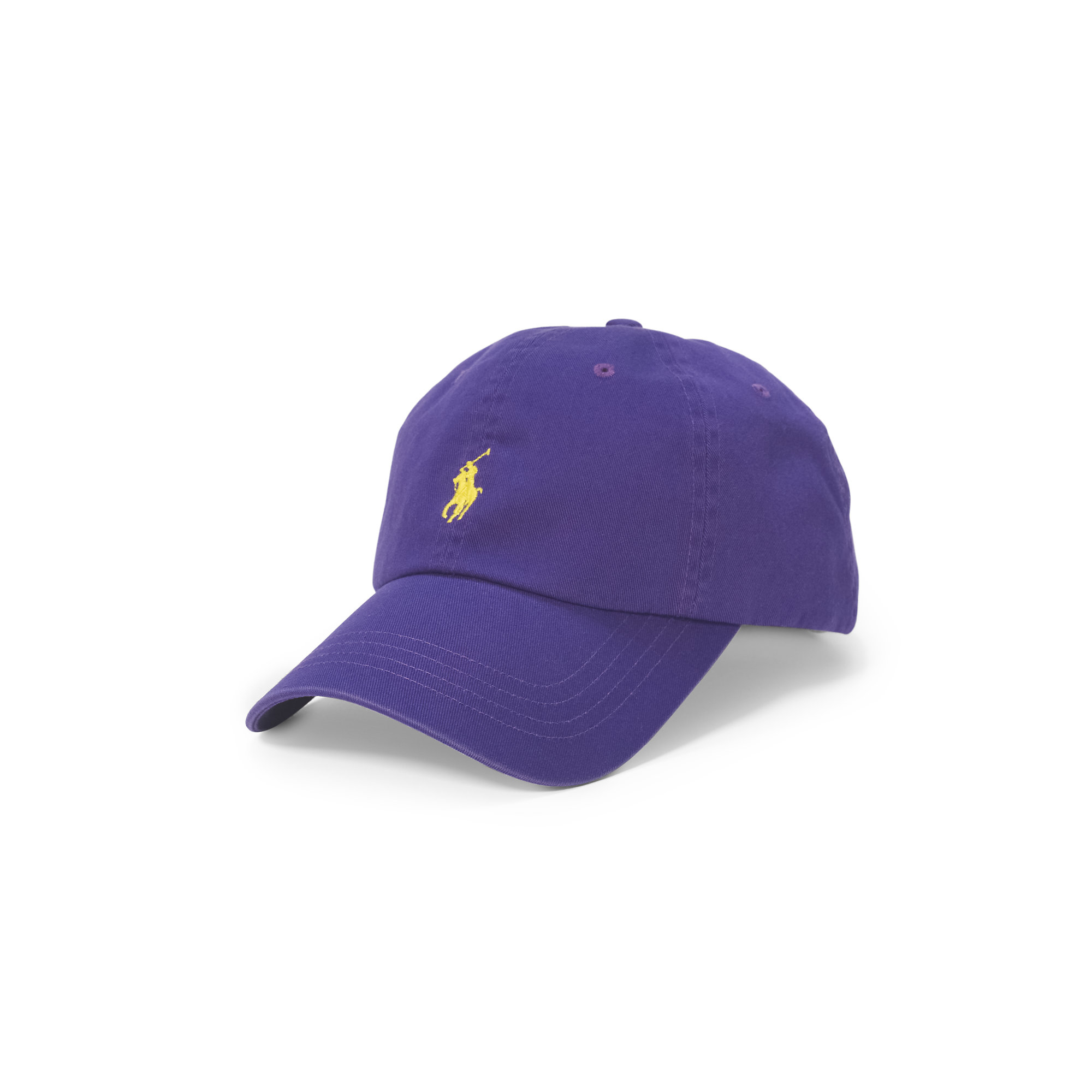 Lyst - Polo Ralph Lauren Cotton Chino Baseball Cap in Purple for Men eb4051afcde