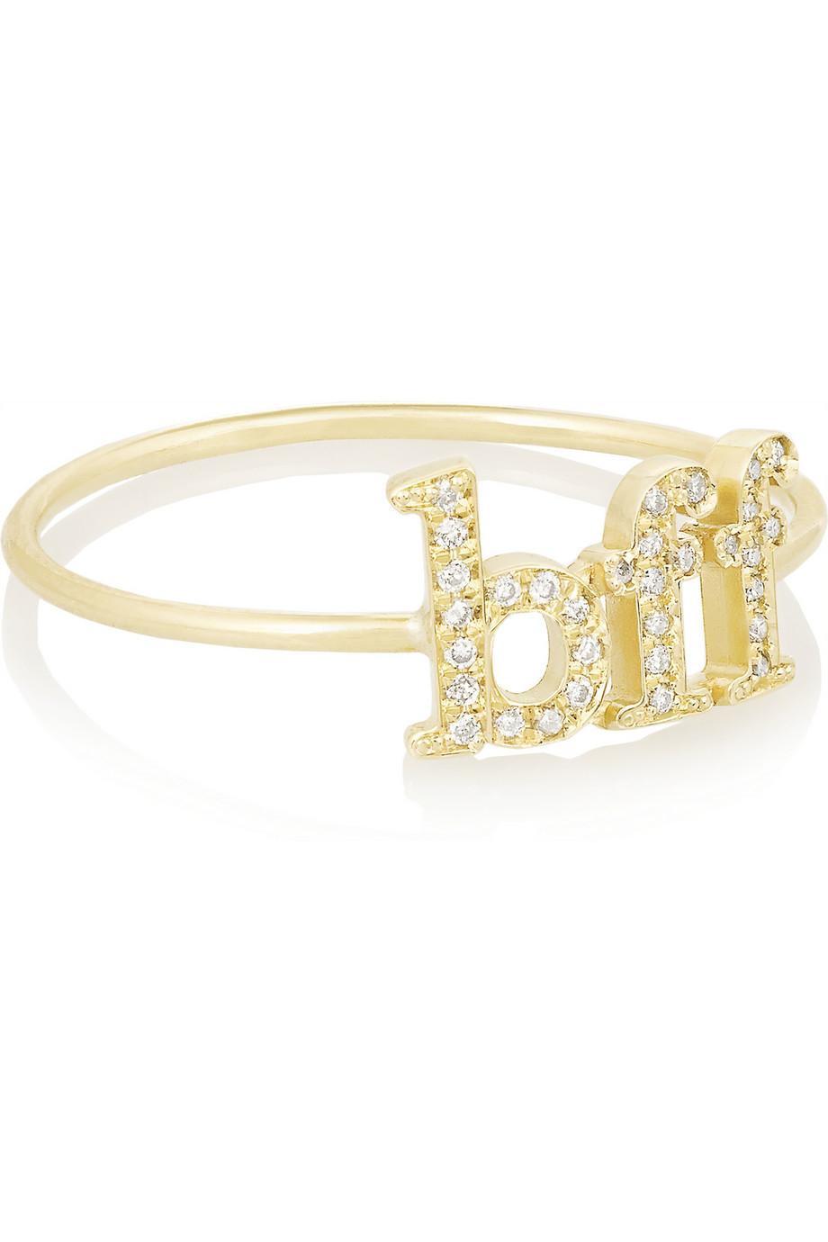 Wishbone 18-karat Gold Diamond Ring - 6 Jennifer Meyer BrPiAa