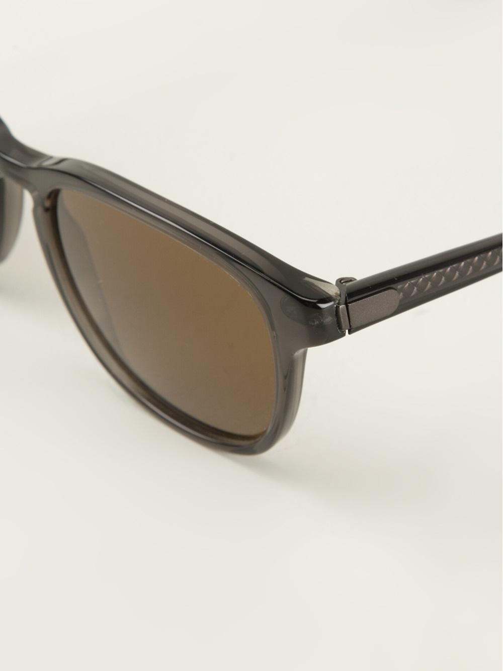 Bottega veneta Wayfarer Sunglasses in Gray
