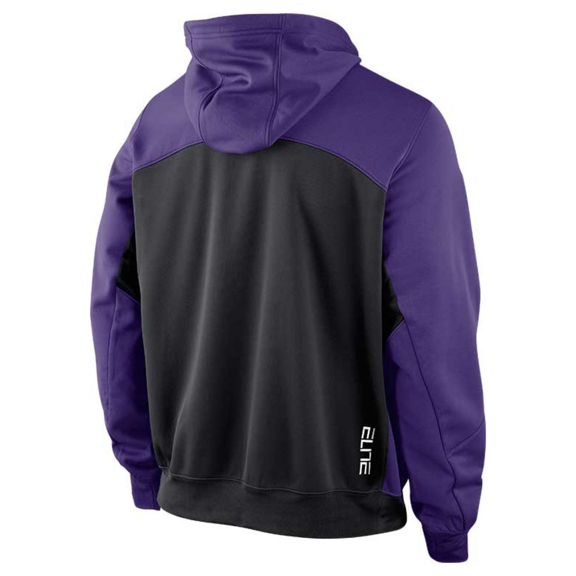 9be1a363e8b Lyst - Nike Mens Lsu Tigers Fullzip Thermafit Hoodie in Purple for Men