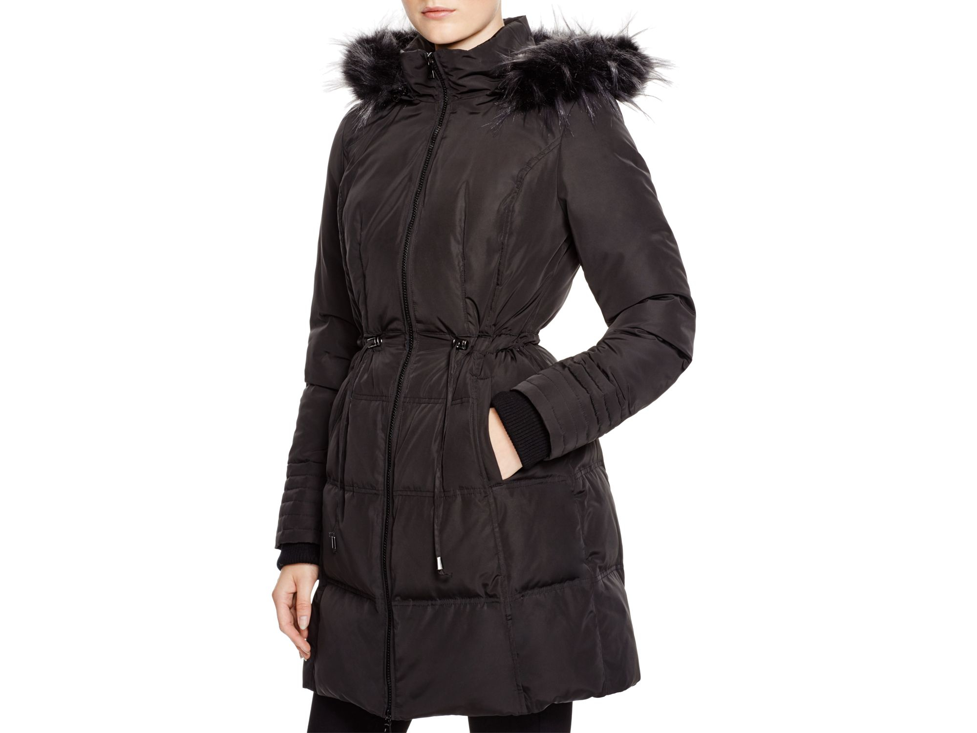 7 For All Mankind Womens Down Coat