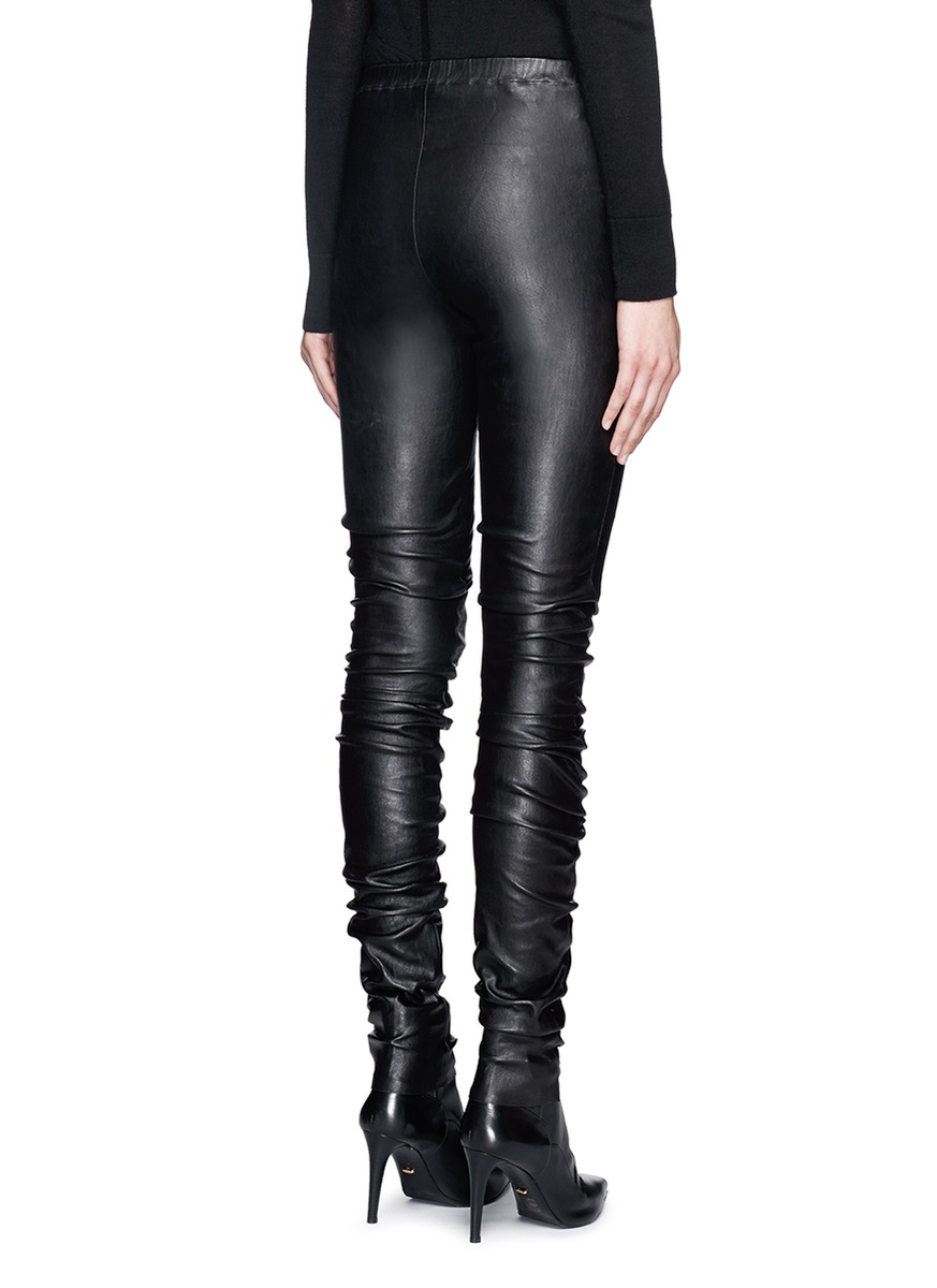Pictures Online Haider Ackermann leather leggings Cost For Sale Cheap Online ALJFq
