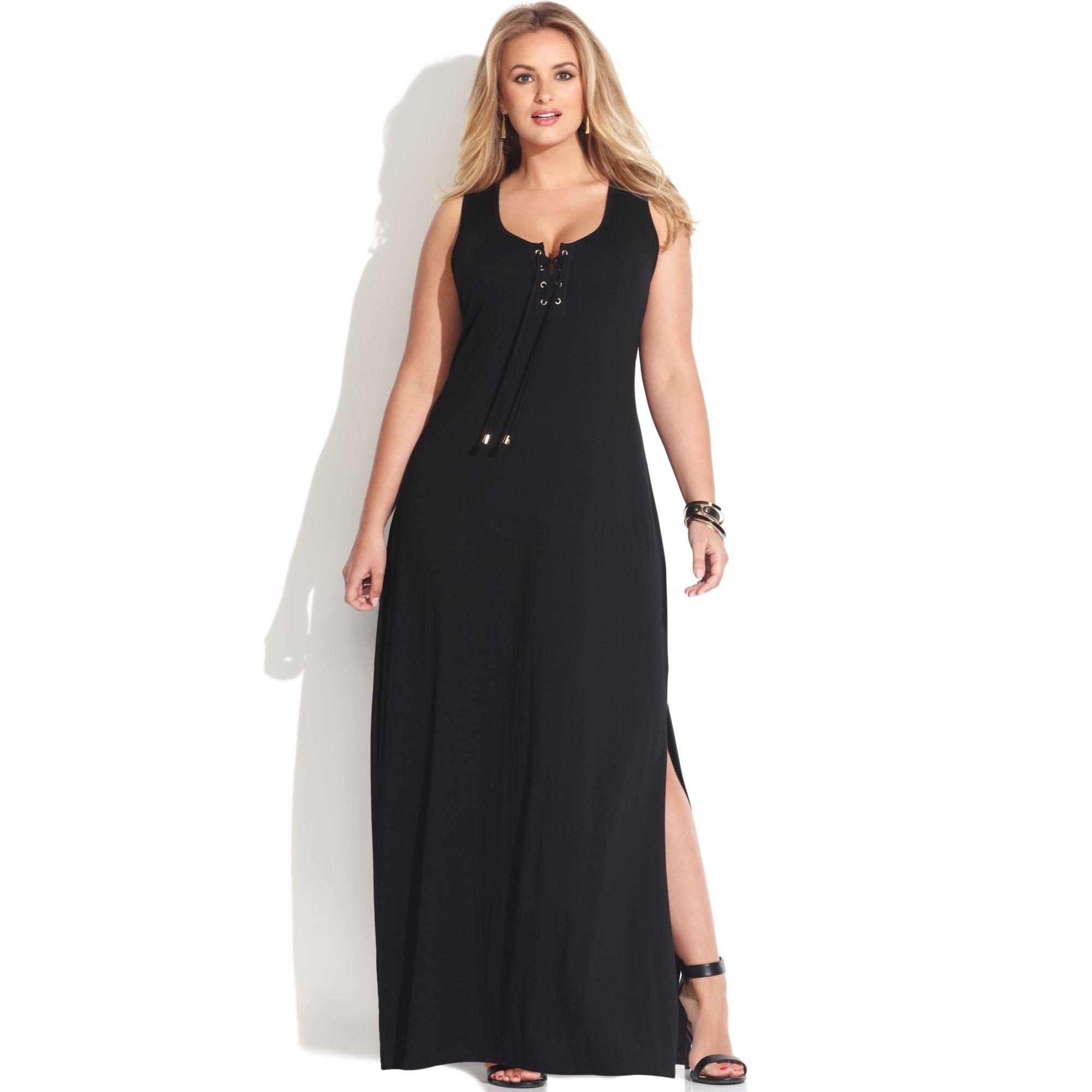 Plus Size Strapless Summer Dress