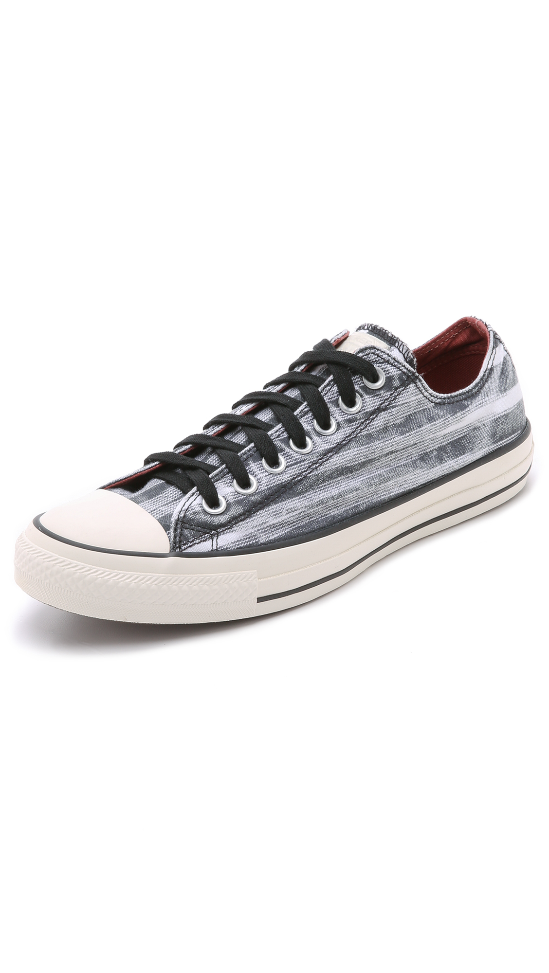 e3869a6c1eac Lyst - Converse X Missoni Chuck Taylor All Star Sneakers in Black ...