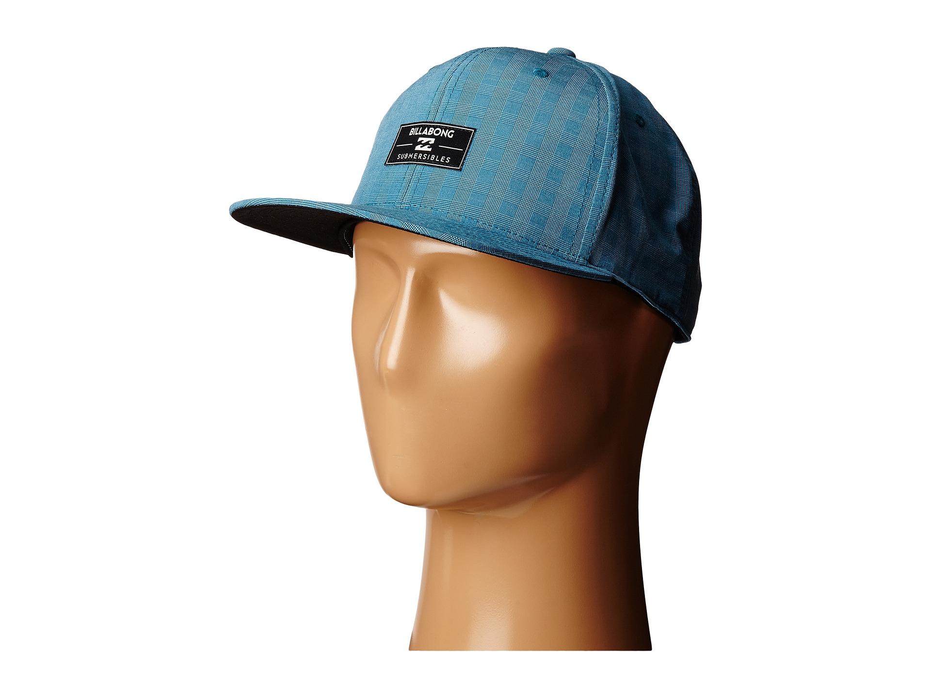 Lyst - Billabong Submersible 110 Flexfit Hat in Blue for Men 9b55e9ba8a1