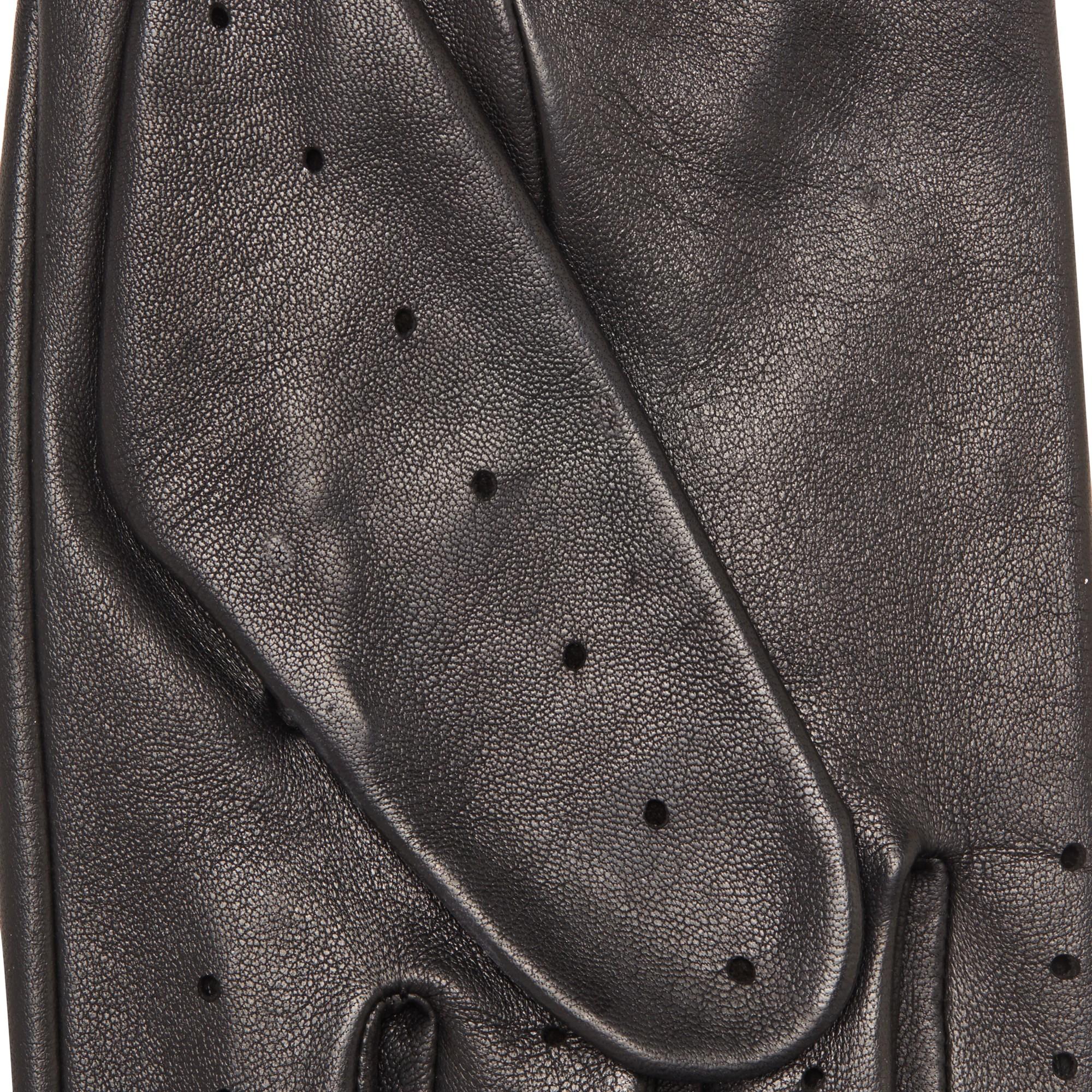 John lewis leather driving gloves - John Lewis Black Leather Driving Glove For Men Lyst View Fullscreen