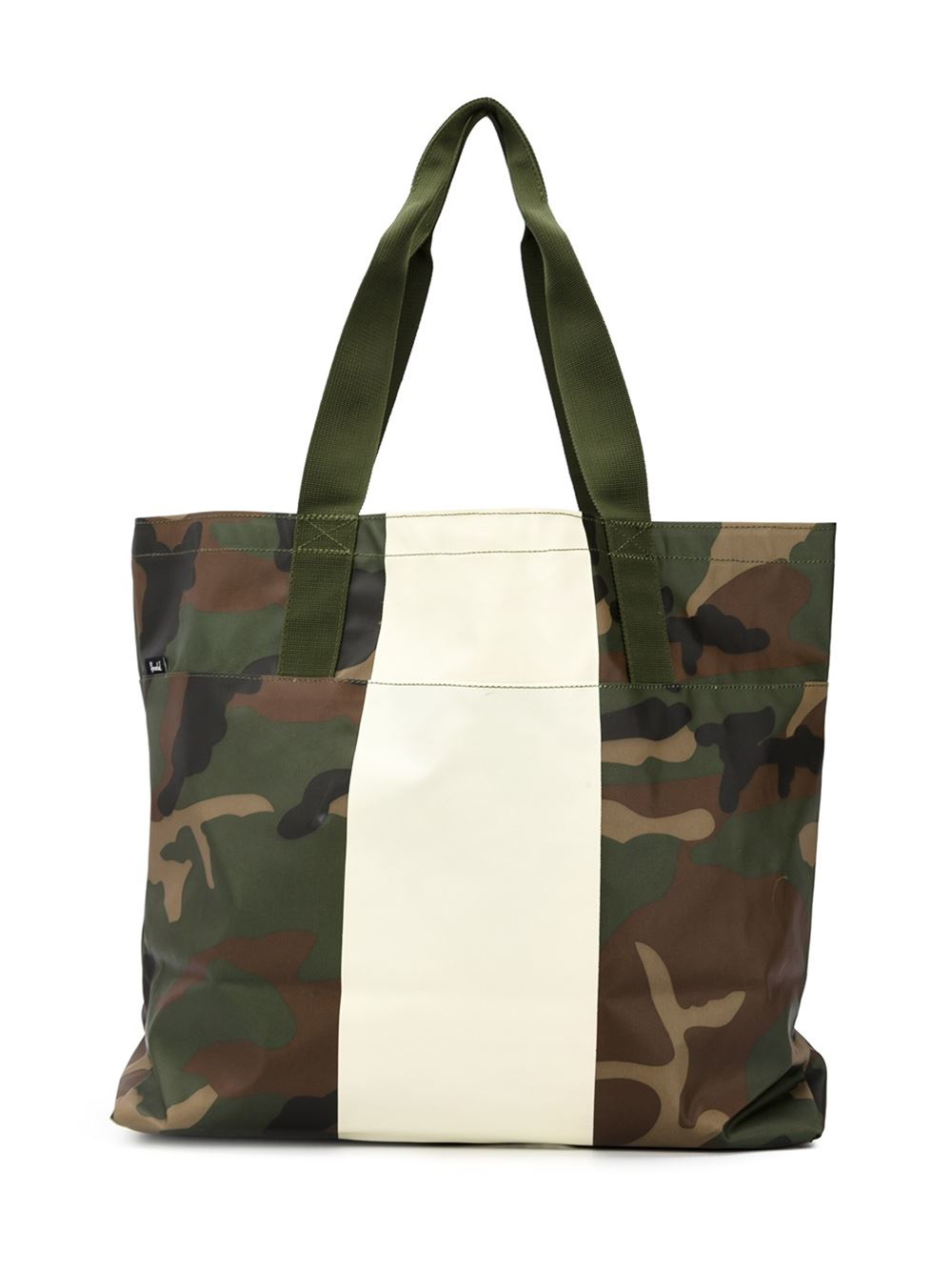 Alexander Camouflage Tote Bag In Green