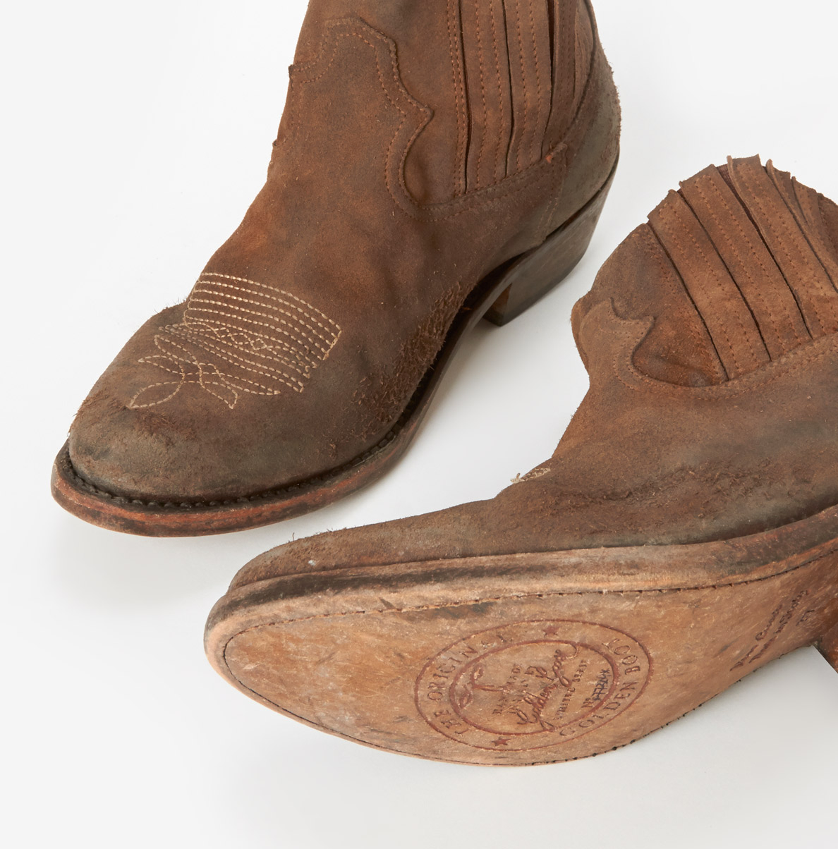 d772e6505c893 Lyst golden goose deluxe brand crosby boot in brown jpg 1188x1204 Golden  goose boots