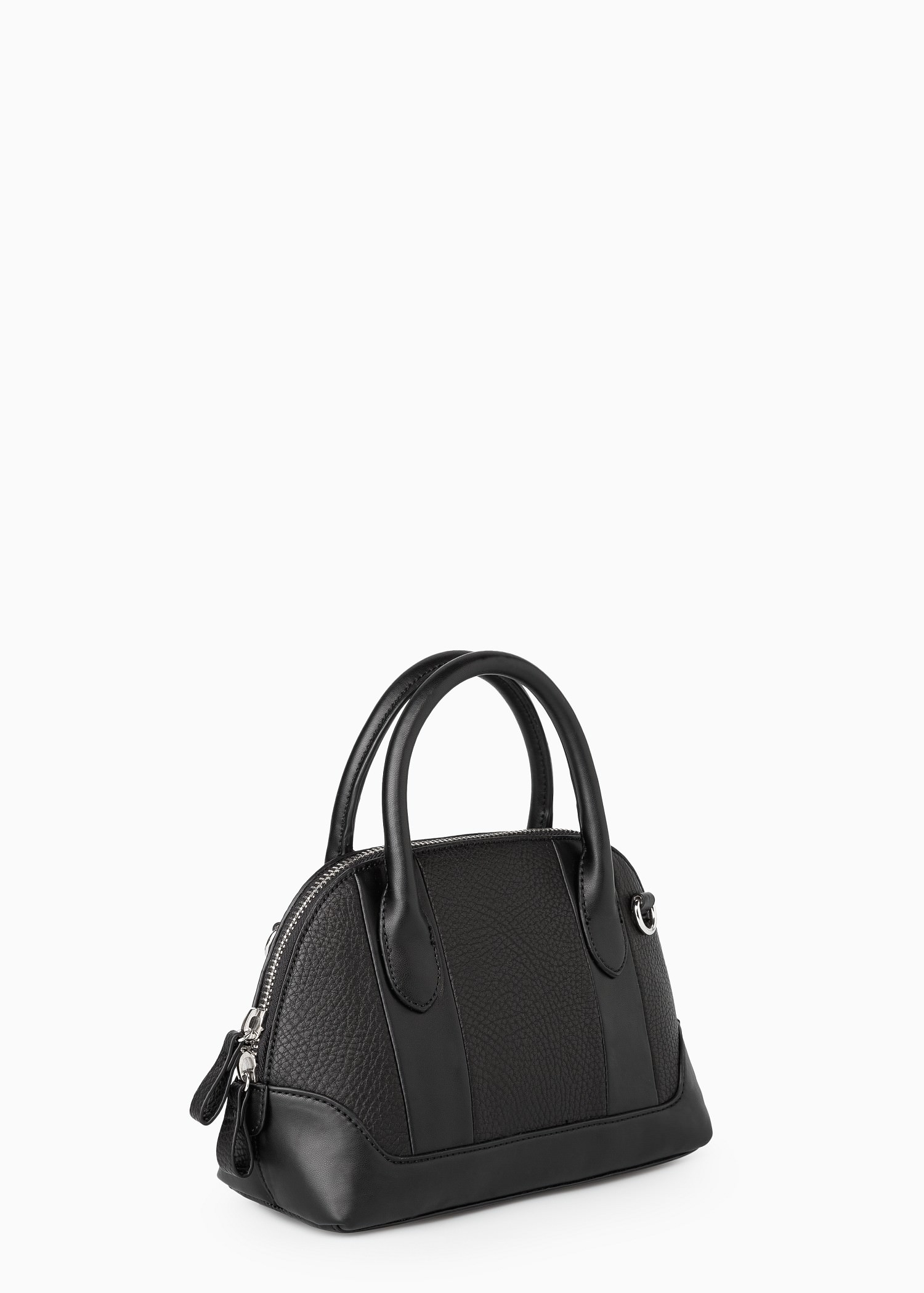 Mango Small Tote Bag in Black | Lyst