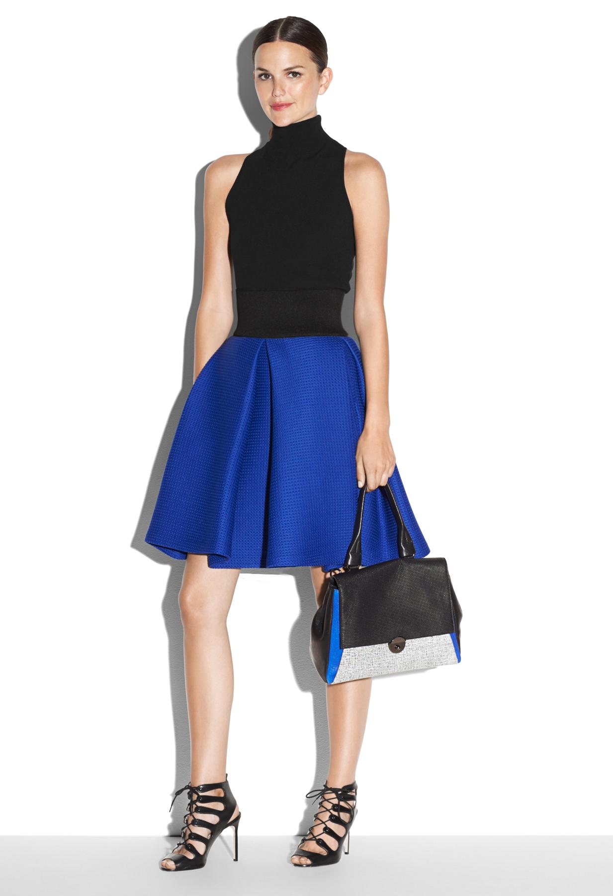 Blue Bubble Skirt 11