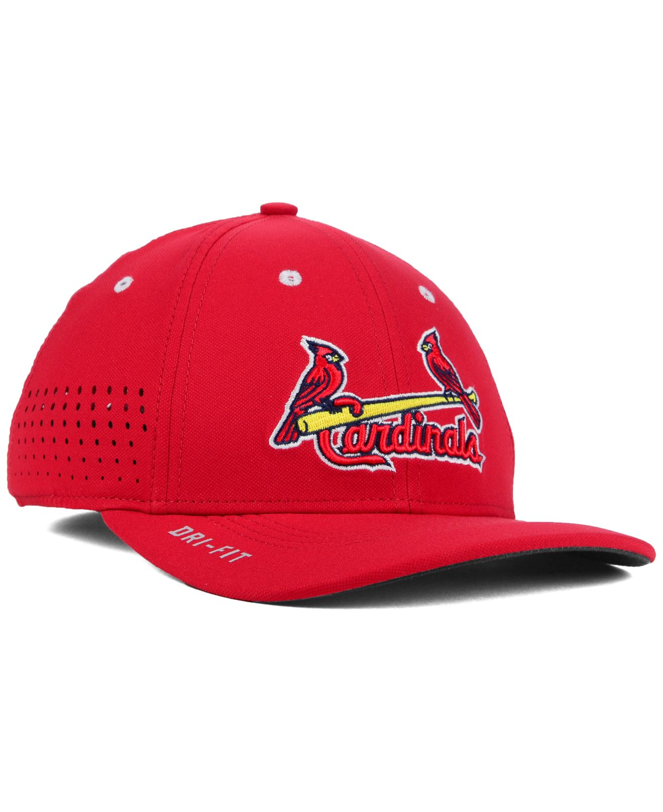 ... cheap lyst nike st. louis cardinals vapor swoosh flex cap in red for  men 0f42e a7b43c5f7b5a