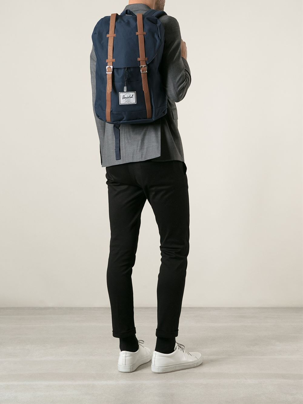 herschel supply co mid volume little america backpack in. Black Bedroom Furniture Sets. Home Design Ideas