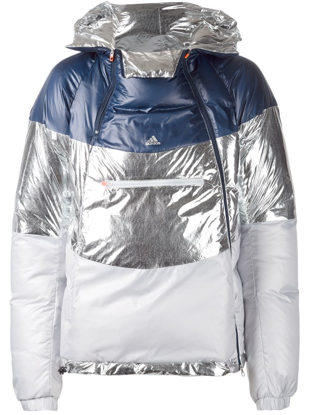 59c0d3609 adidas Originals Adidas By Kolor Padded Jacket in Metallic for Men ...