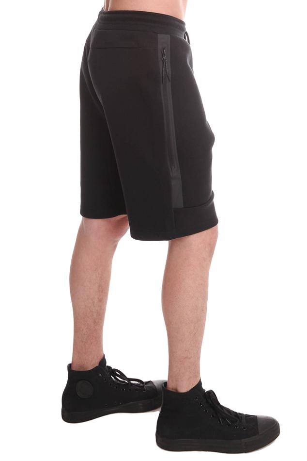 Lyst - Nike Tech Fleece Shorts in Black for Men e43bb85f415b