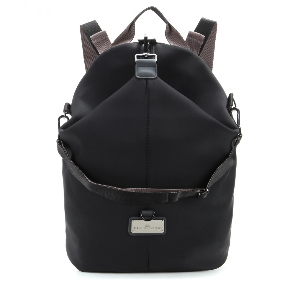 lyst adidas by stella mccartney studio bag in black. Black Bedroom Furniture Sets. Home Design Ideas