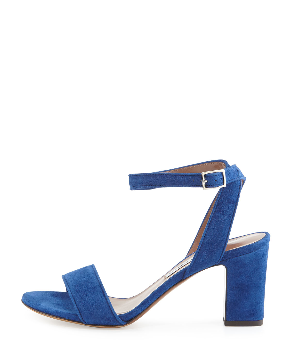 7b39dc740f0 Lyst - Tabitha Simmons Leticia Suede Sandals in Blue
