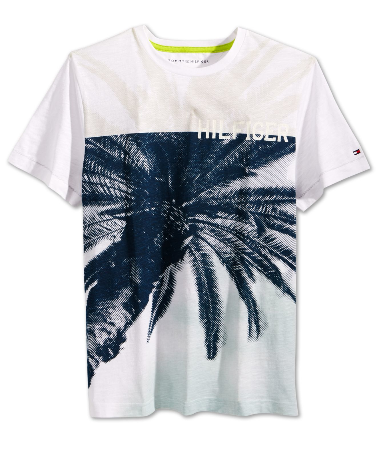 a5754273a Lyst - Tommy Hilfiger Palmnado Graphic-print T-shirt in White for Men