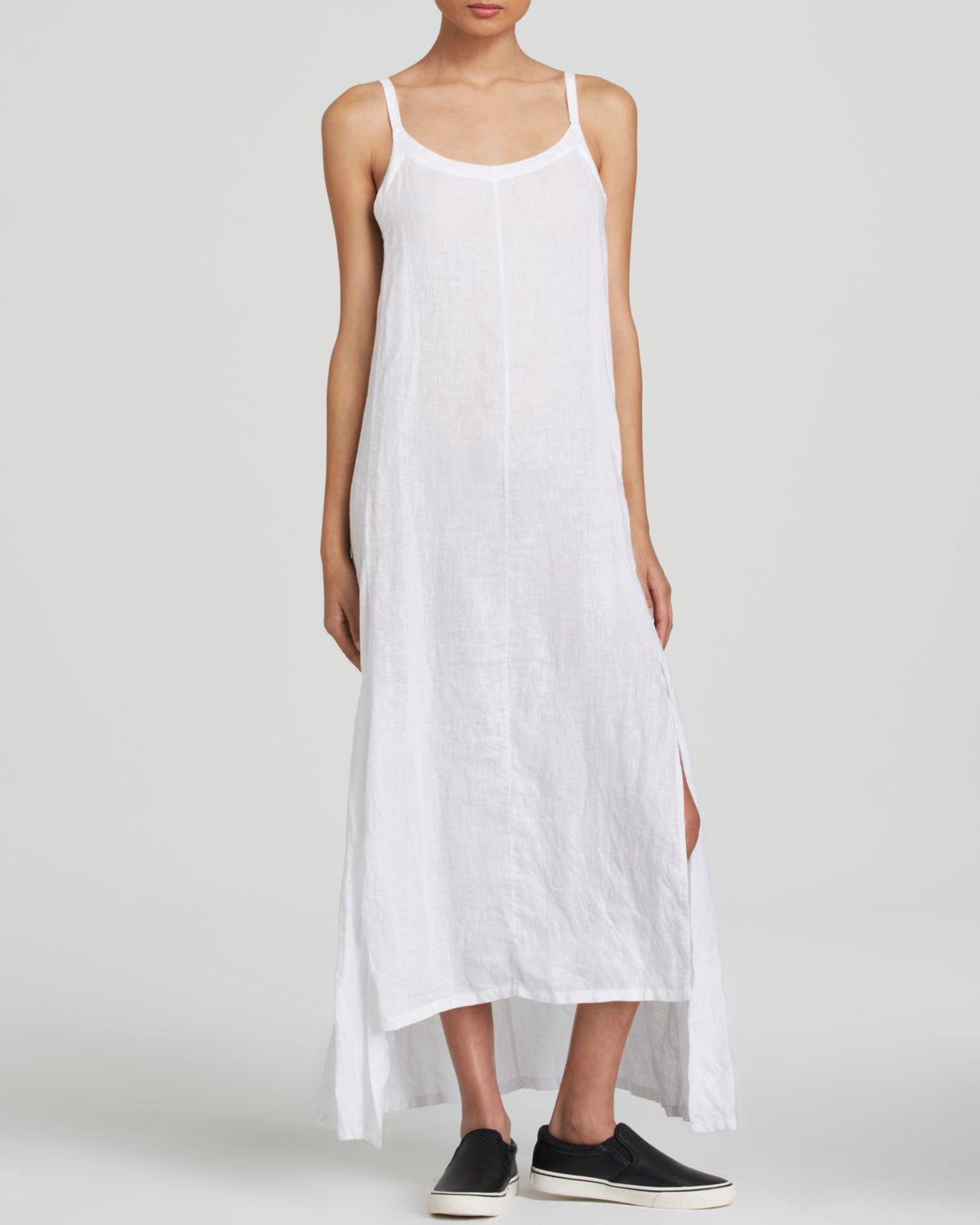 3e26978e4f8 Gallery. Previously sold at  Bloomingdale s · Women s White Linen Dresses  ...