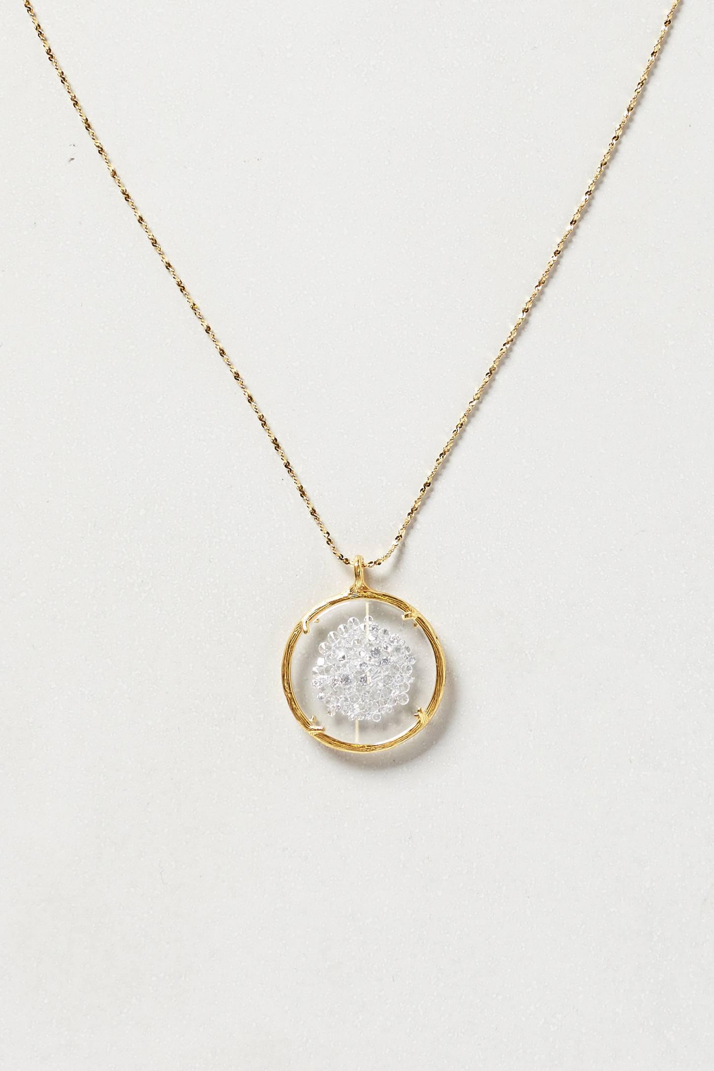 Catherine weitzman Spark Shaker Pendant Necklace in ...