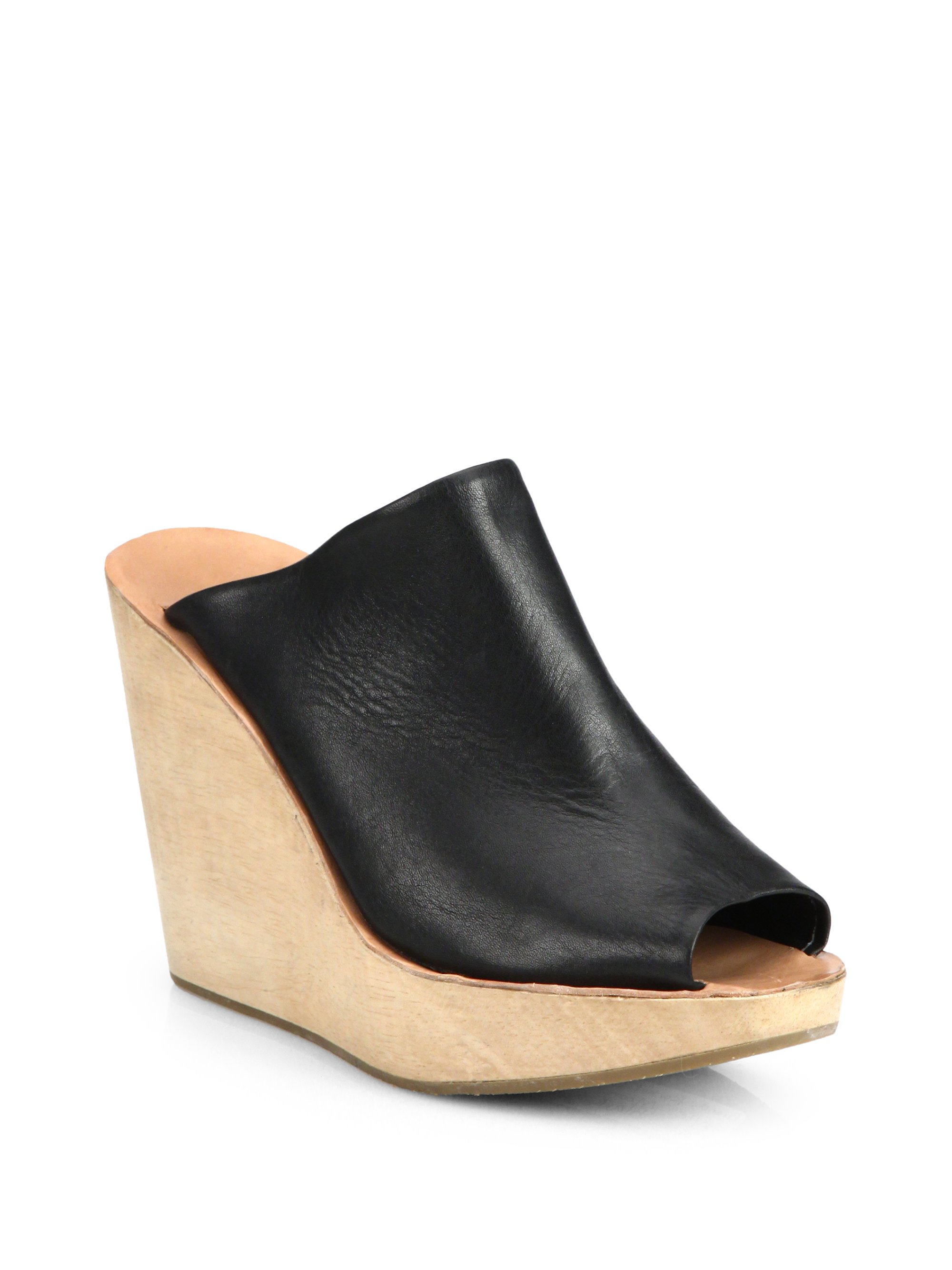 Rachel Comey Leather Platform Wedges cheap visit new buy cheap manchester great sale best wholesale for sale fAyHgrgM