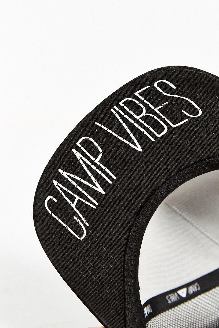 Lyst - Poler Camp Vibes Trucker Hat in Black df22caffe09