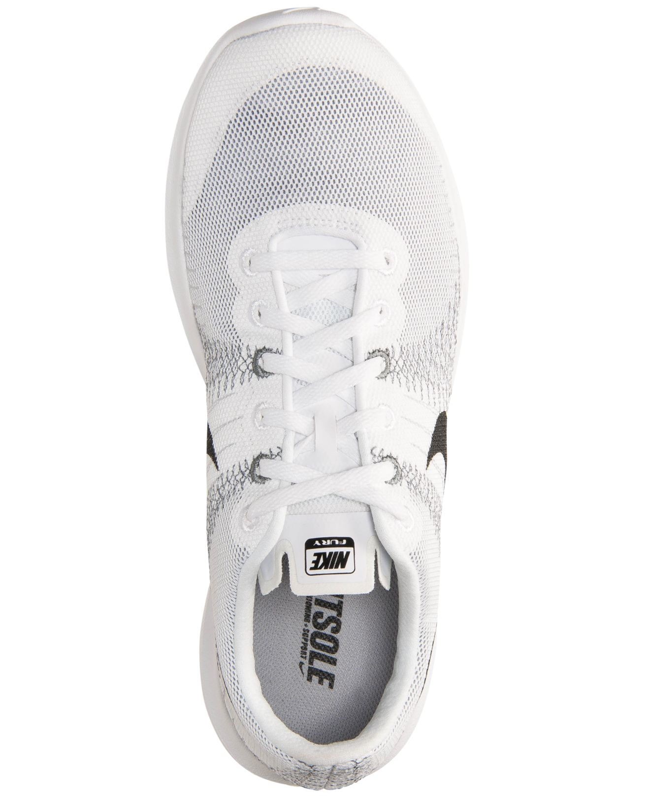 bd4a64454560 ... clearance lyst nike mens flex fury running sneakers from finish line in  8b4fd 60b5f