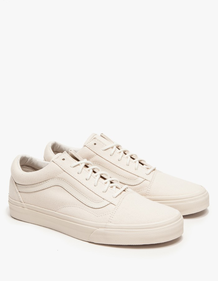 beige vans old skool mens