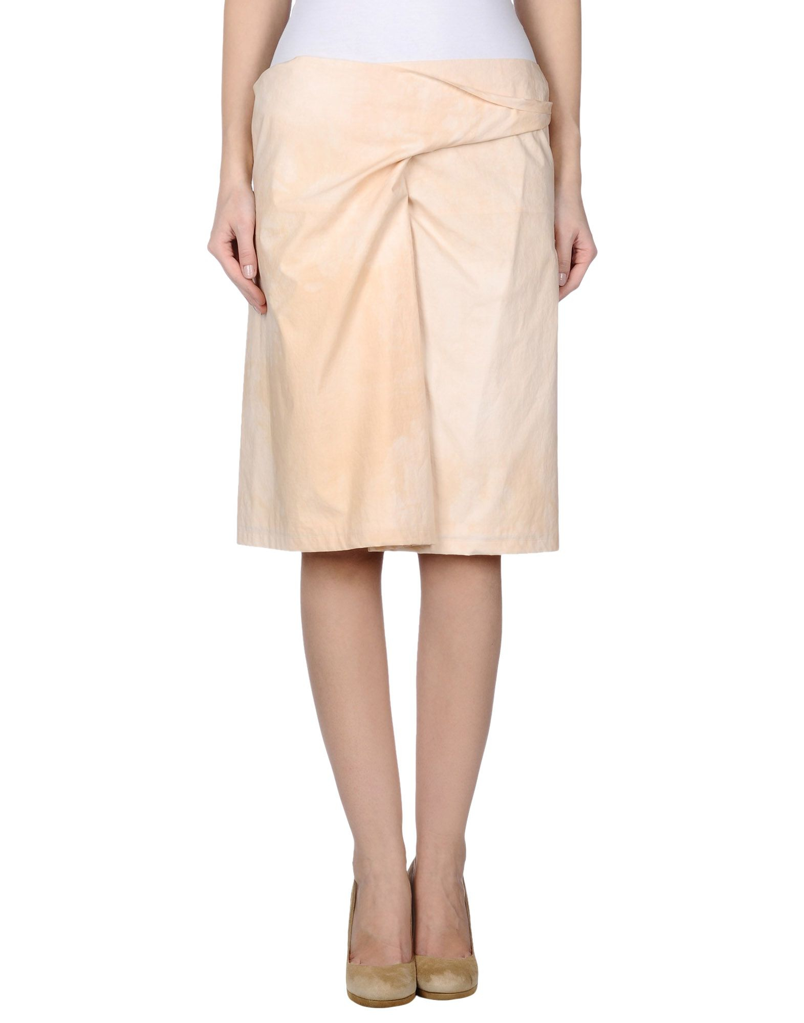 christian wijnants knee length skirt in pink lyst