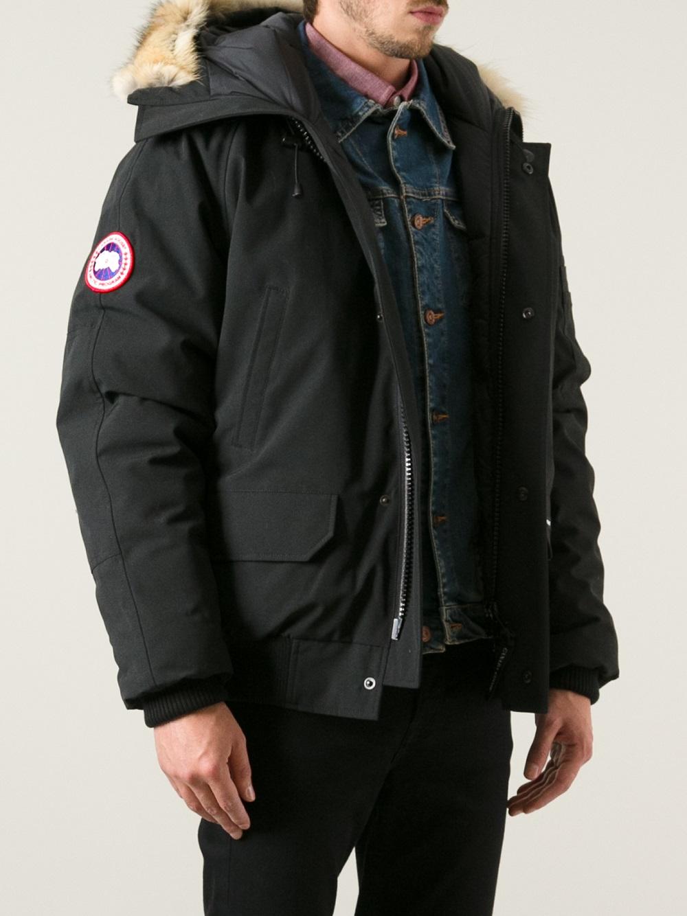 Canada Goose trillium parka sale price - Canada goose 'chilliwack' Bomber in Black for Men | Lyst