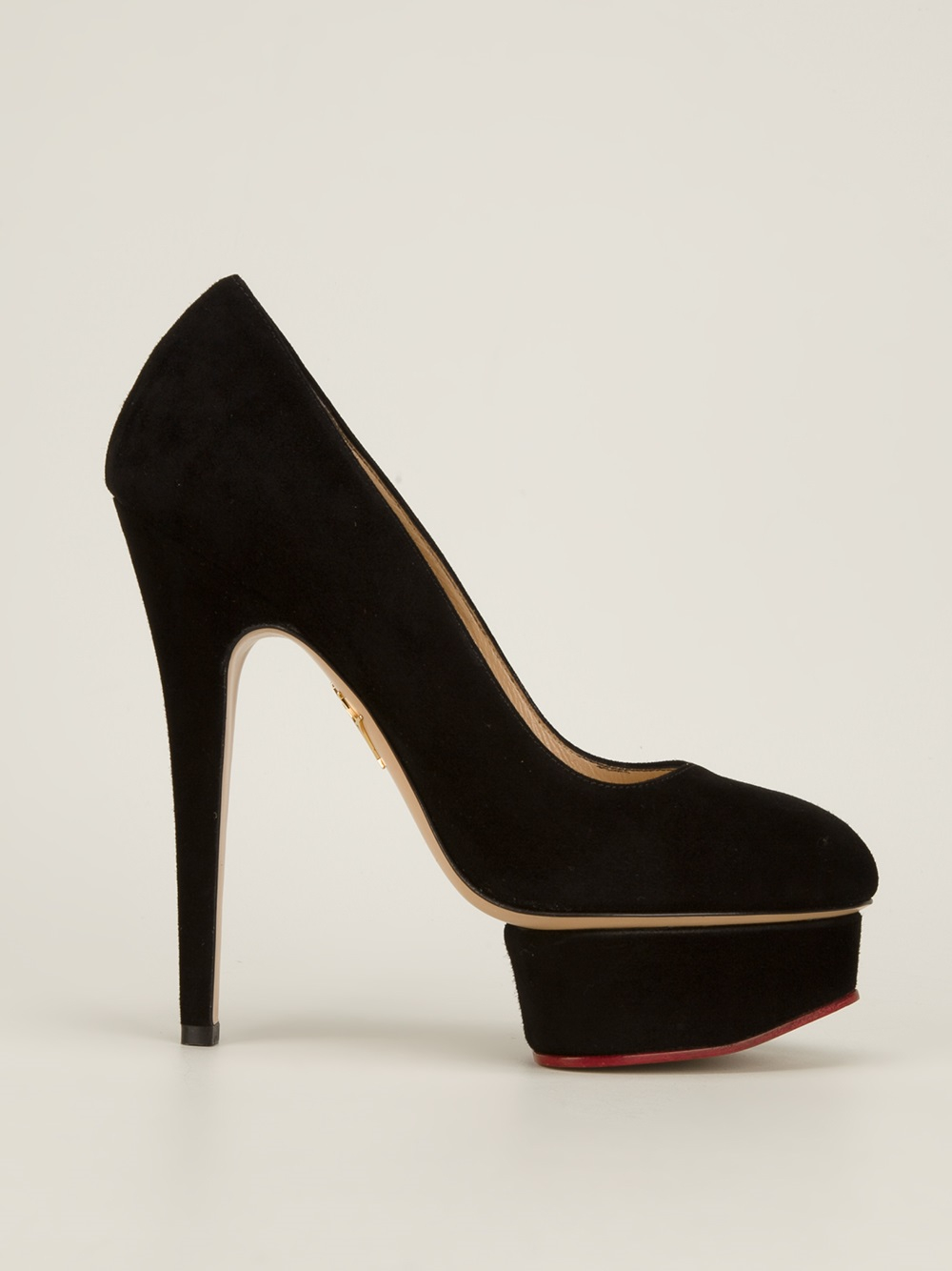 Dolly pumps - Black Charlotte Olympia xMbFH