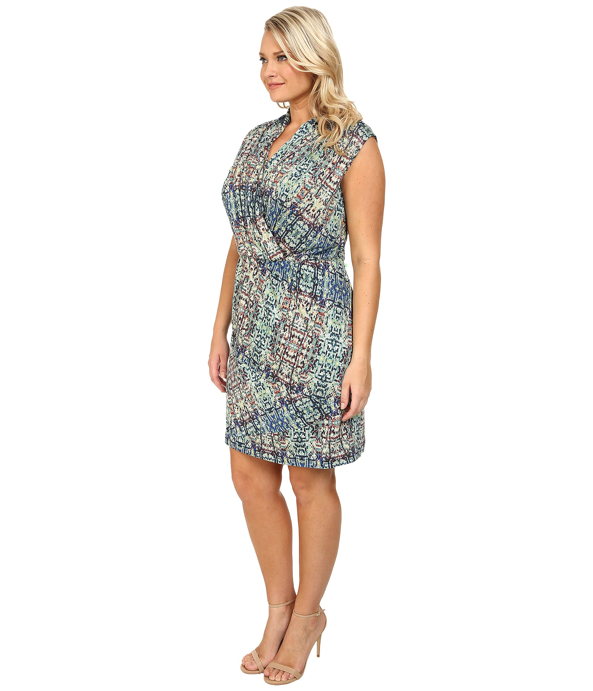 Lyst - NIC+ZOE Plus Size Urban Safari Dress