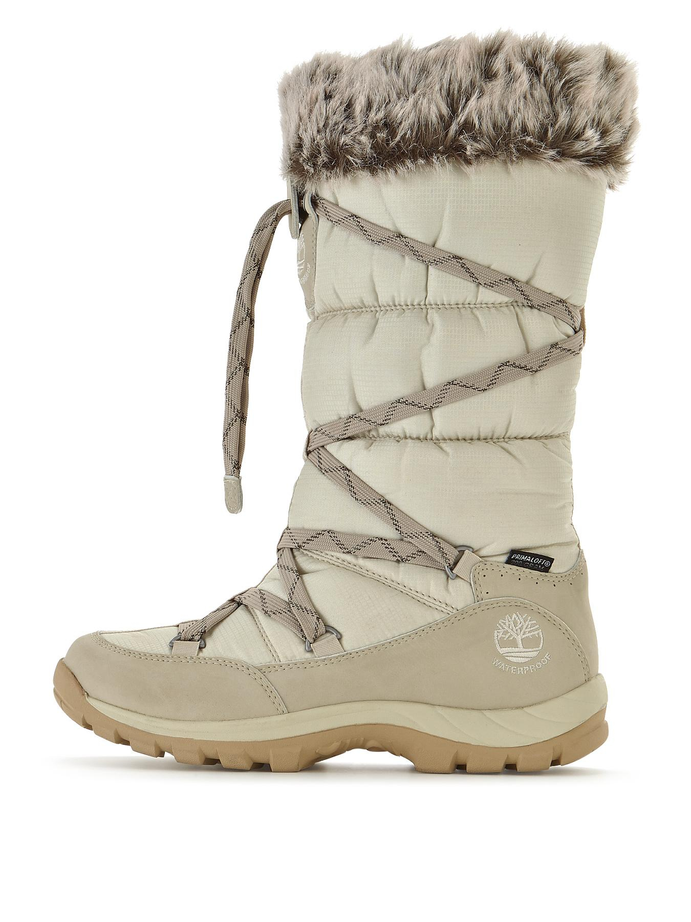 timberland chillberg snow boots in white for men winter. Black Bedroom Furniture Sets. Home Design Ideas