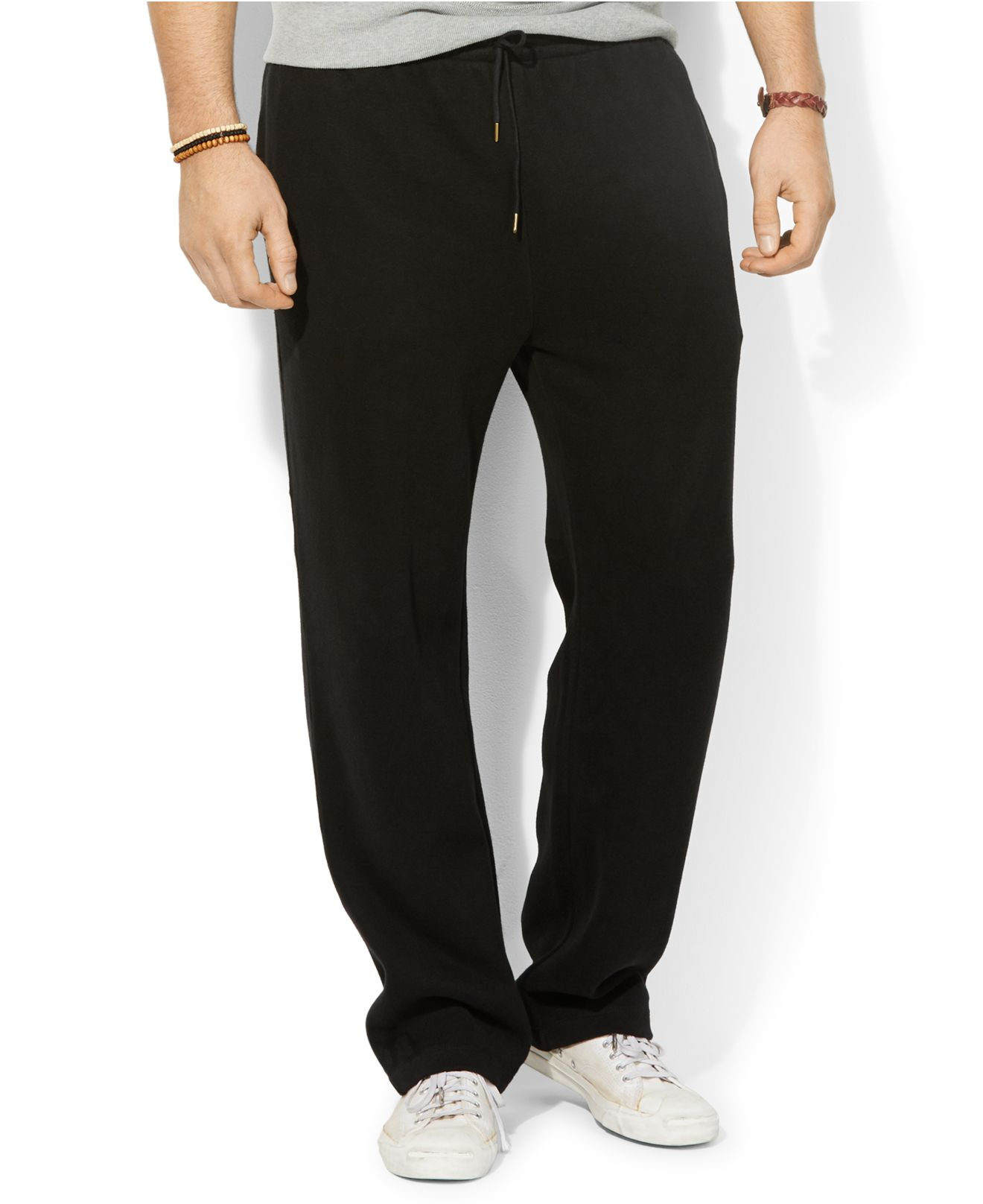 46c7f4f01 Polo Ralph Lauren Mens Big Tall Fleece Drawstring Pants