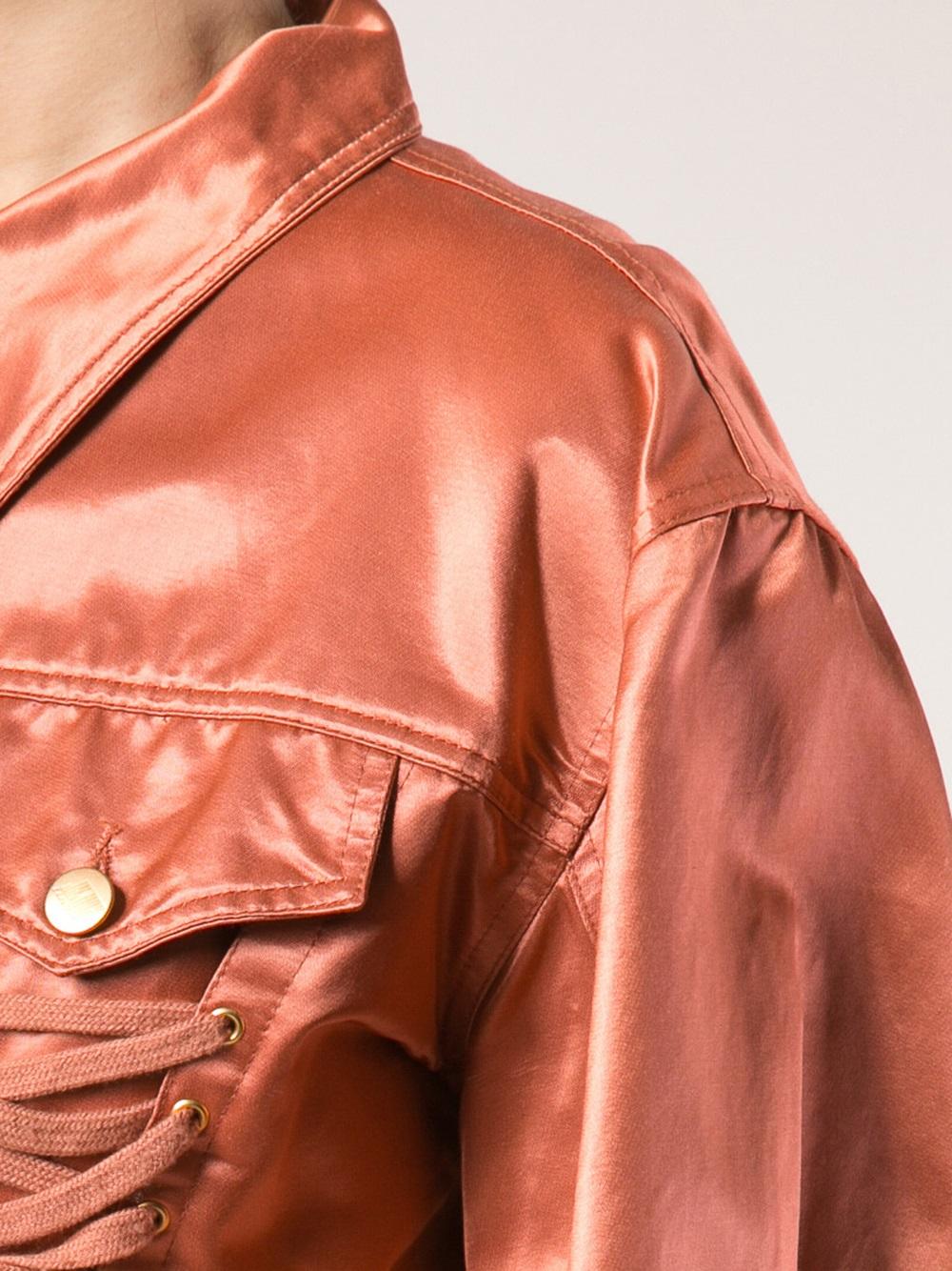 17328b5415 Lyst - Jean Paul Gaultier Corset Jacket in Orange