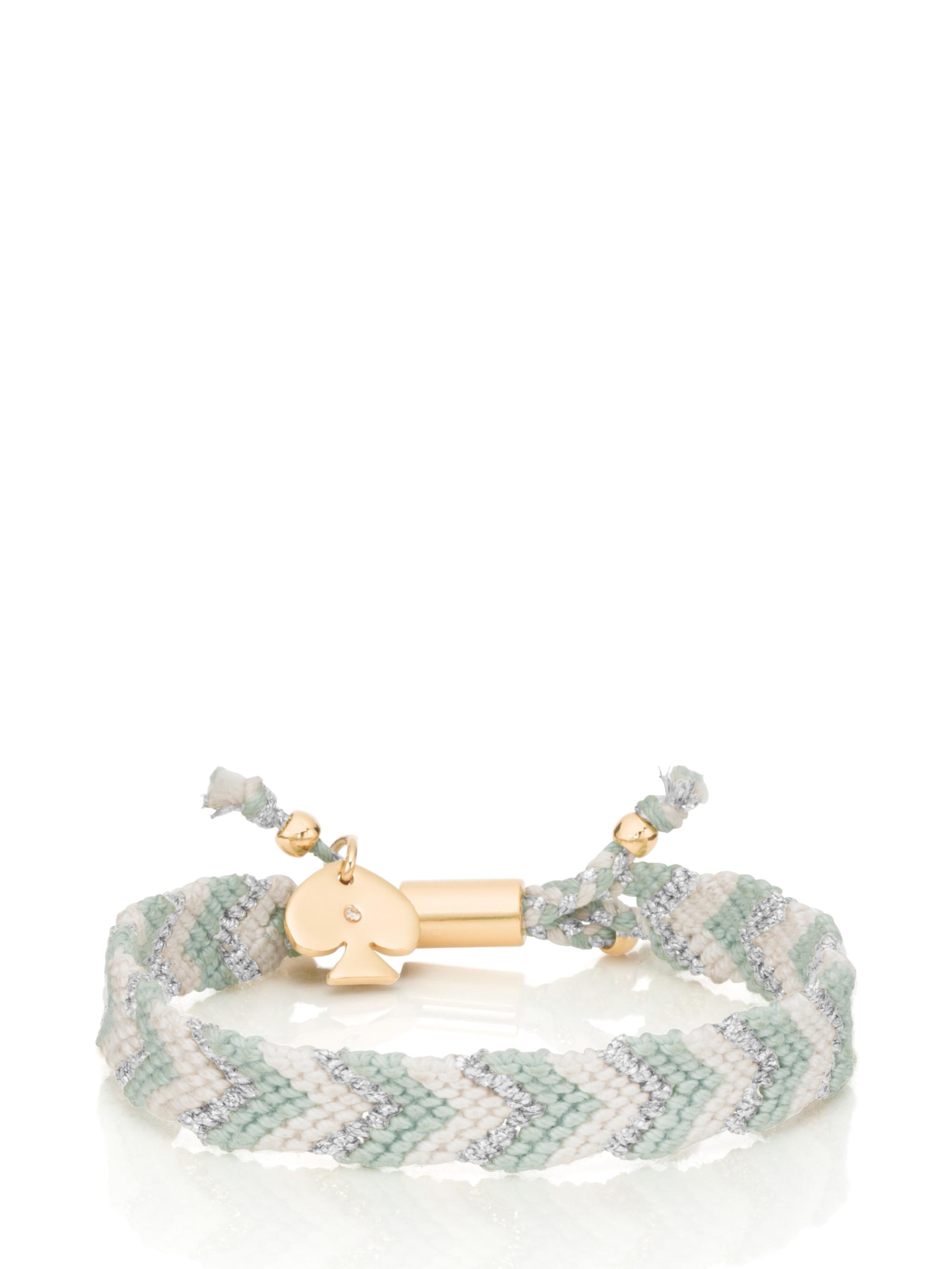 Lyst Kate Spade New York On Purpose Friendship Bracelet