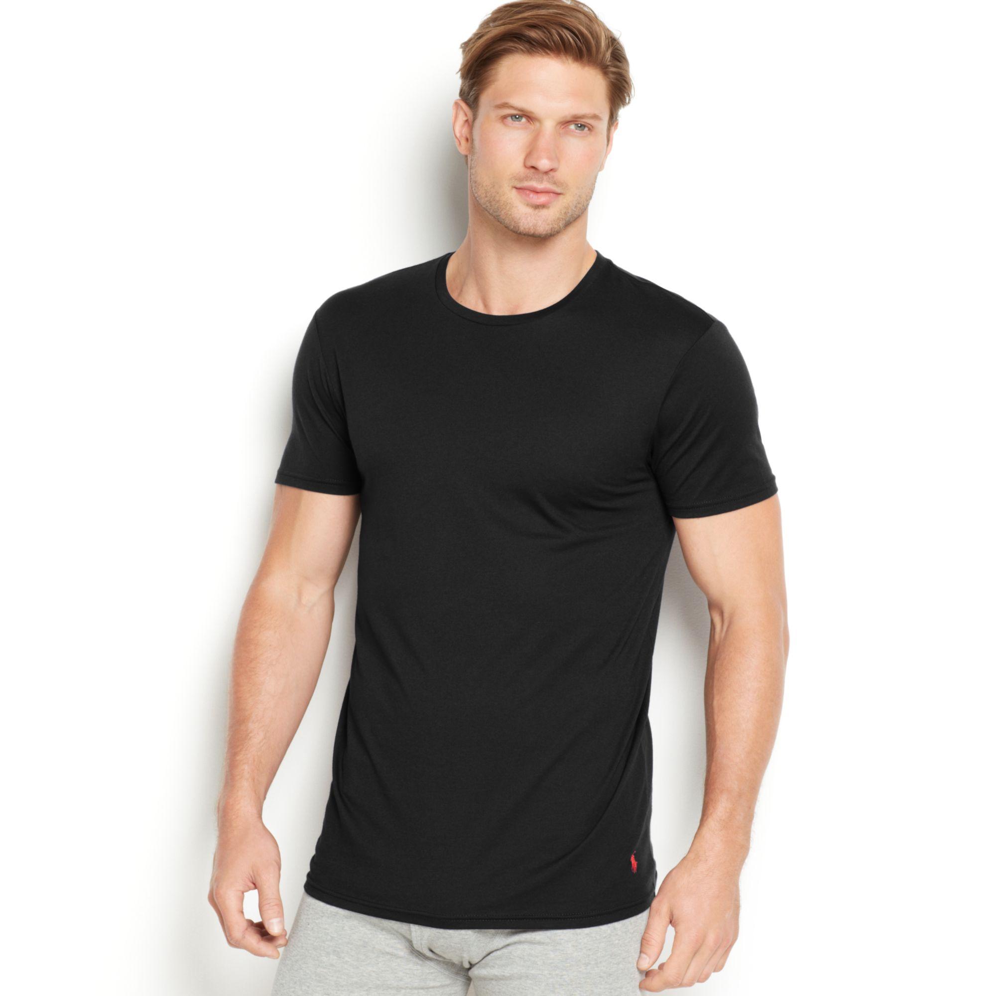 Polo Ralph Lauren Men 39 S Supreme Comfort Crew Neck T Shirt